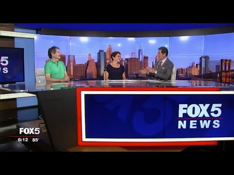 American Institute for Stuttering FOX 5 News at 6 WNYW FOX New York 06 28 19 6 630 PM 06 05