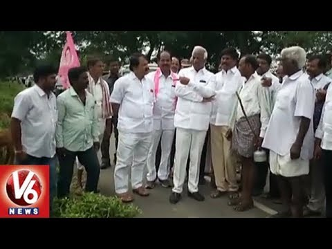 Dy CM Kadiyam Srihari Chit Chat With Shepherd Over Sheep Distribution Scheme | Warangal | V6 News
