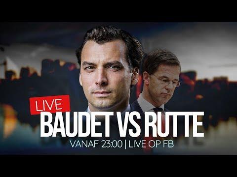 Baudet vs Rutte - Kijk live!