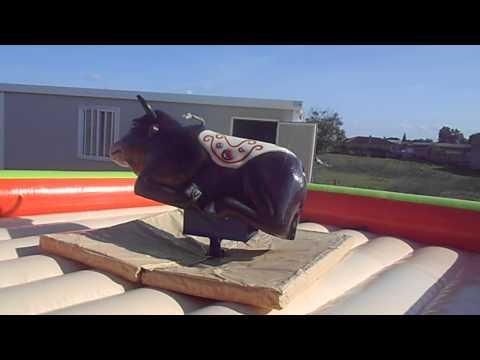Toro Mecanico hinchables amador
