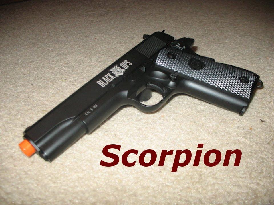 Scorpion Black Ops Black Ops 1911 Scorpion