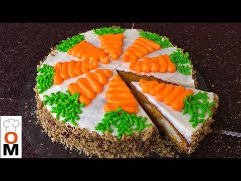 Ольга Матвей   Морковный торт - Простой и Очень ВКУСНЫЙ    Carrot Cake Recipe