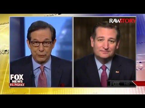 Ted Cruz complains about Chris Wallace's tough interview