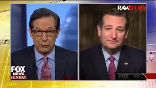 Ted Cruz complains about Chris Wallace