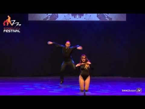 2016 Sydney Latin Festival.  Pablo & Jennifer