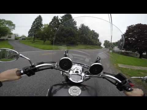 2012 Yamaha V star 1300 tourer test drive review