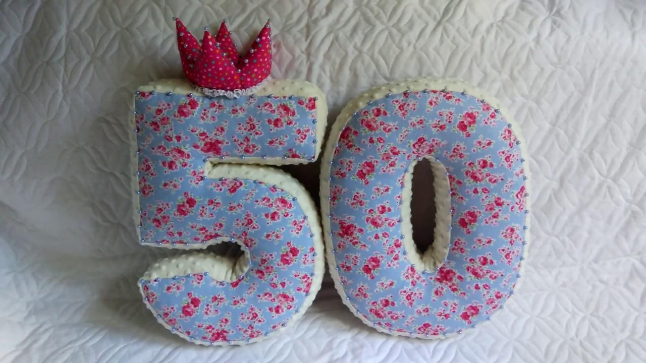 Цифры-подушки своими руками выкройки 37