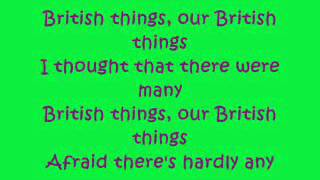 Horrible Histories: British Things Lyrics