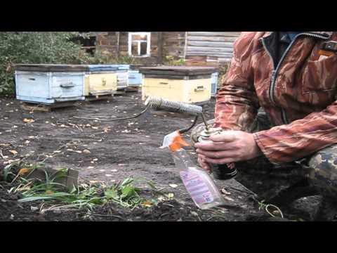 Дым пушка для обработки пчел от клеща своими руками