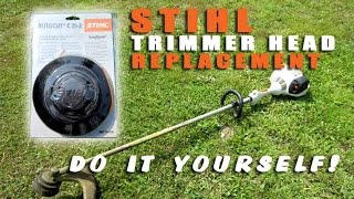 HOW-TO - Stihl Trimmer Head Replacement