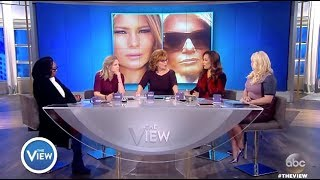 White House Conspiracy Theory:  Melania Body Double - The View