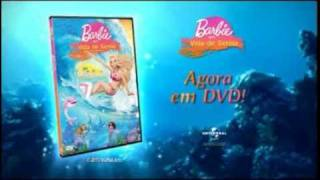 [Original] Barbie em vida de sereia - Novo Trailer