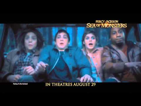 Percy Jackson: Sea Of Monsters - Official Trailer #1 [HD]