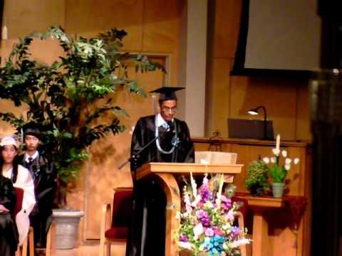 Lodi Academy graduation 2014 Consecration
