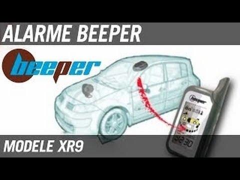 test alarme auto universelle beeper xr9 youtube. Black Bedroom Furniture Sets. Home Design Ideas
