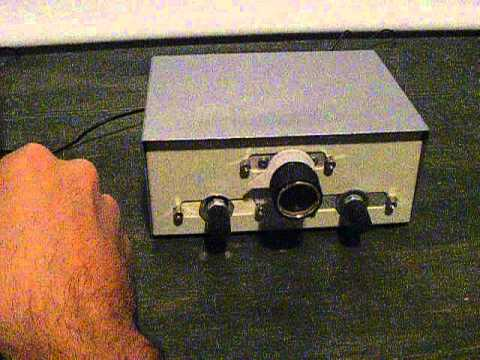 Regenerative shortwave receiver