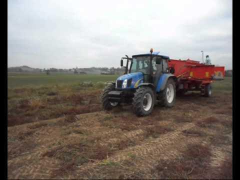 New Holland T5050 + TVT155  i Akpil Kartofel