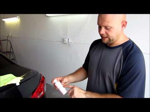 Review - Dr.Colorchip paint chip repair system on 2008 Lexus IS F.wmv