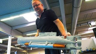 RC SCALE MODEL SUBMARINES IN DETAIL AND MOTION, WITH DIVING!! *RC BOATS UNDER WATER