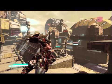 Team Deathmatch as Scientist - Transformers Fall Of Cybertron Multiplayer