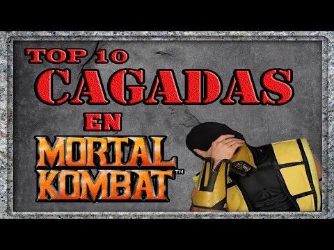 10 cagadas en Mortal Kombat (ft. Saizerboy)