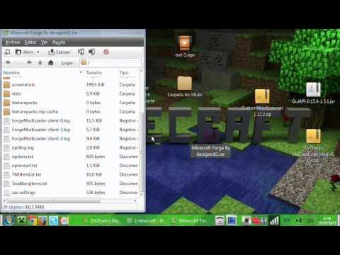 Como descargar e instalar mo'creatures para minecraft 1.5.1 y 1.5.2 en guadalinex edu(Pedido)