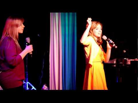 Amanda Weldin and Emma Wagner duet