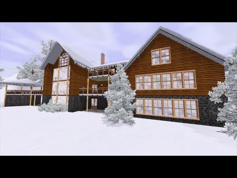 Sims 3 - Winter Retreat