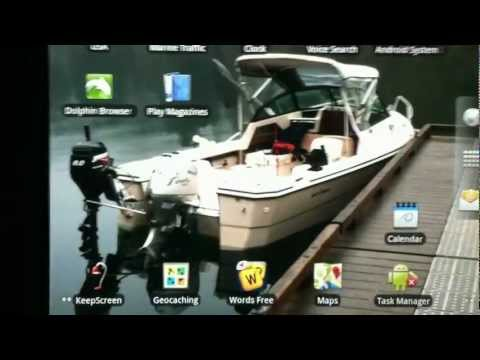 Navionics on Nexus 7 and Le Pan android tablet