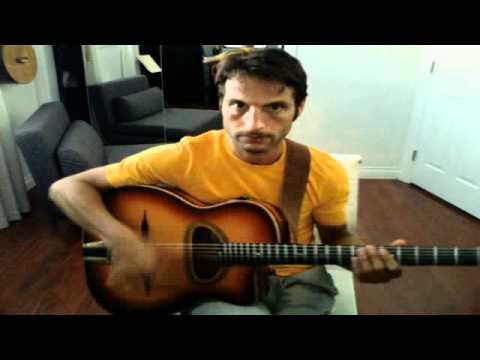 Gypsy Jazz Guitar - Upstroke In Swing Rhythms