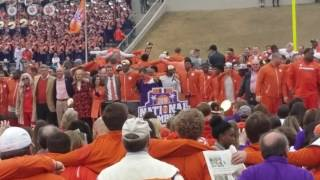 TigerNet.com -  - Clemson National title celebration - Alma Mater