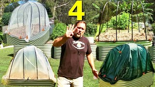 cover album 4 Cheap & EASY to Make Raised Garden Bed COVERS