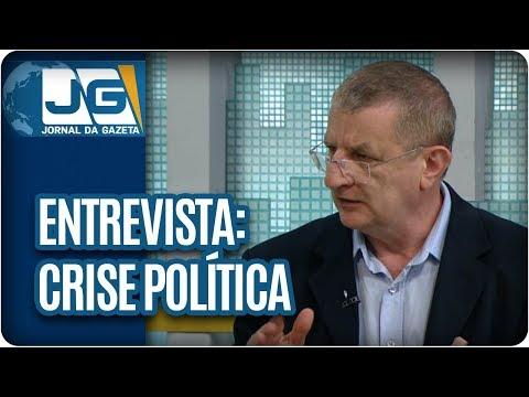 Maria Lydia entrevista Aldo Fornazieri, sociólogo e professor da FESPSP, sobre a crise política