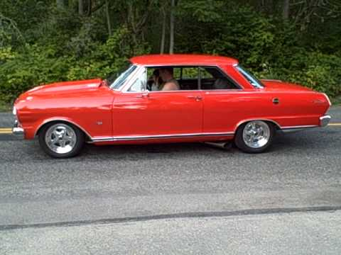1965 Chevrolet Nova II Burnout