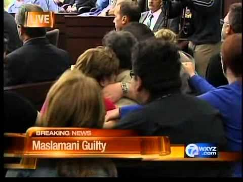 Maslamani found guilty on 18 charges, including murder