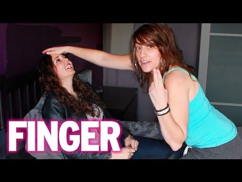 Lesbian booger eating