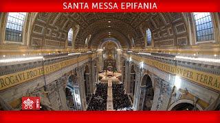 Santa Messa nella Solennità dell'Epifania del Signore 06 gennaio 2021  Papa Francesco