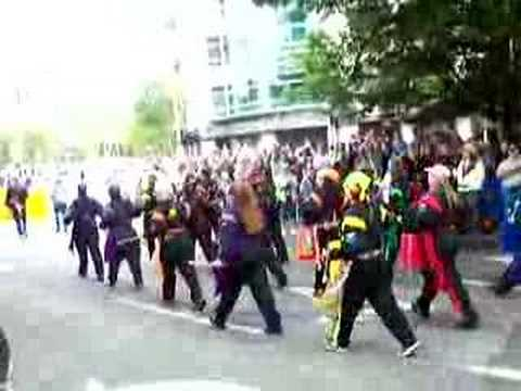 Seattle 2007 Gay Pride Parade Giant Ass Drum Corps video