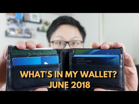 What's In My Wallet? June 2018 Edition