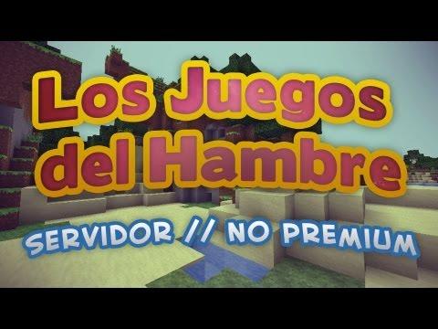 Review Servidor NO PREMIUM // MataCubos GameMMO [Juegos del Hambre] - Info... [Minecraft]