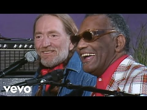 Willie Nelson with Ray Charles - Seven Spanish Angels Music Videos