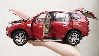 Unboxing of Ford Everest / Ford Endeavour 1:18 - Scale Diecast Model Car