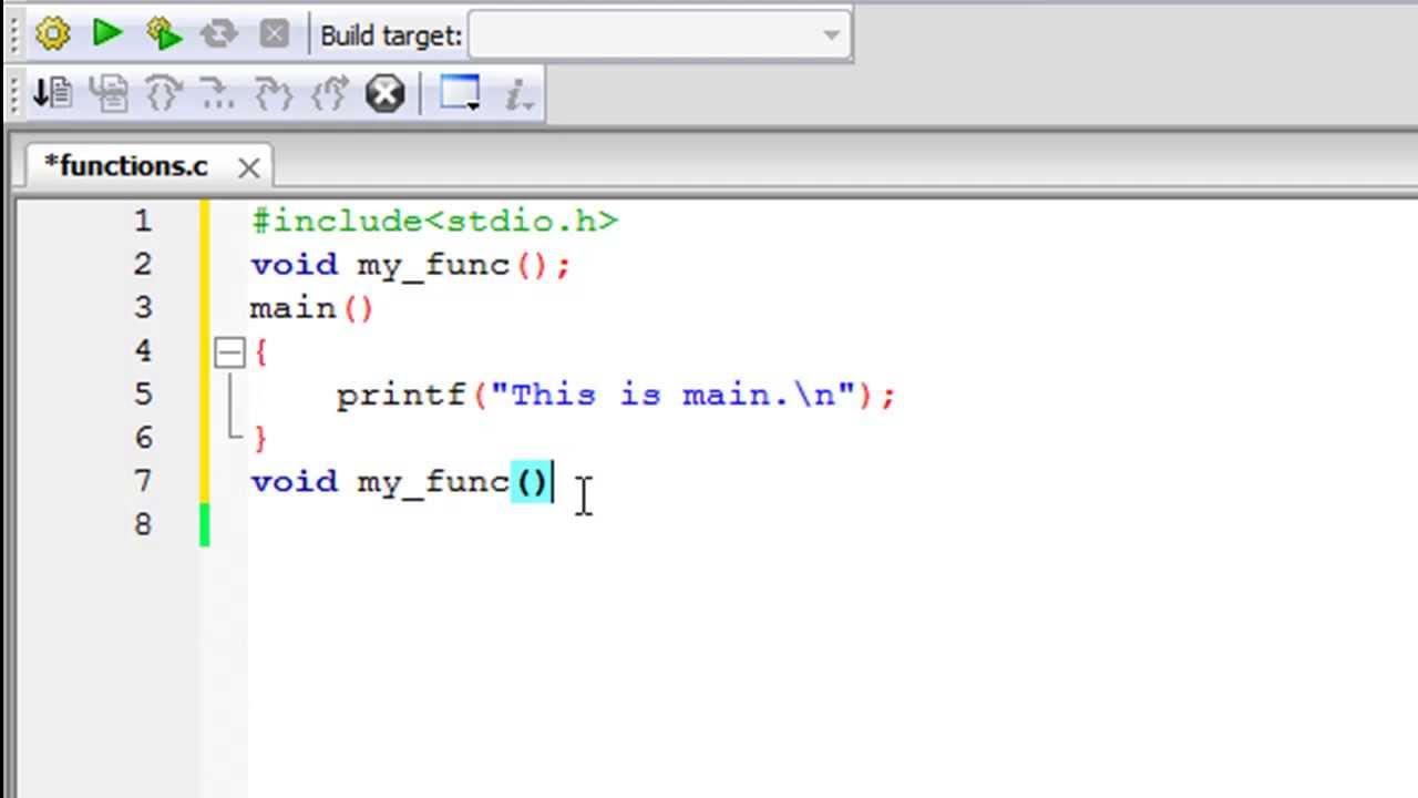 C Programming Tutorial 43 Functions Part 1