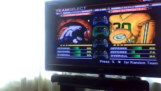 ESPN NFL 2K5 Custom Simulation Season Game 4: Green Bay Packers V. Denver Broncos