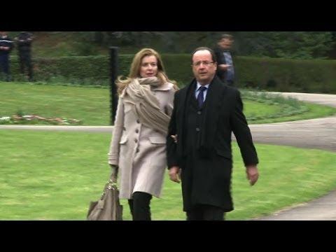 François Hollande annonce sa rupture avec Valérie Trierweiler