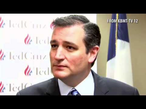 Ted Cruz Owns a Reporter on Stupid Gay Marriage Question..asked if he hates gays, ridiculous.