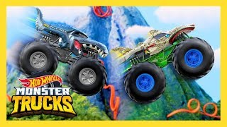 OFFICIAL TRAILER | Monster Trucks Island | Hot Wheels