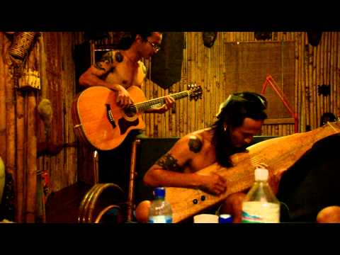 The Borneo Headhunters playing traditional Iban music