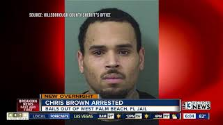 Singer Chris Brown arrested in Florida