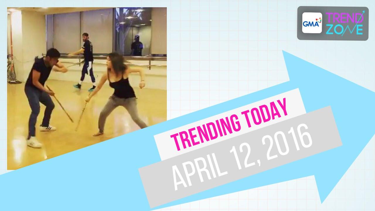 Trendzone - April 12, 2016